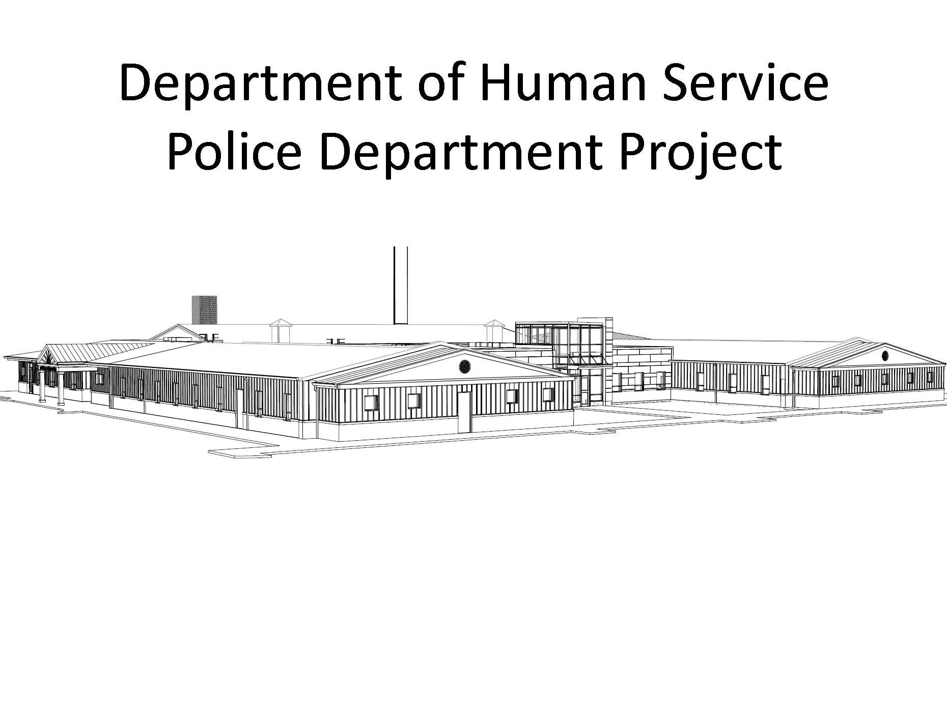 Dept of Human Service  Police Dept Project